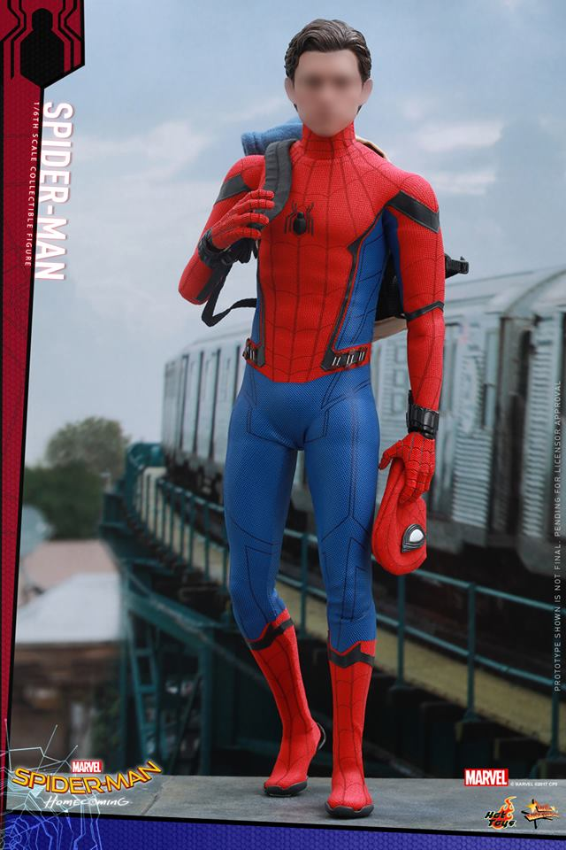 Homem Aranha da Hot Toys - De Volta Ao Lar