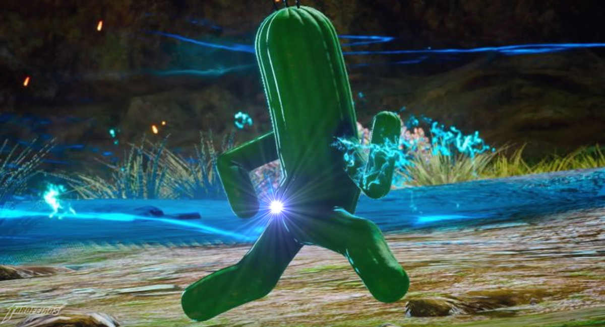 A bunda do Cactuar