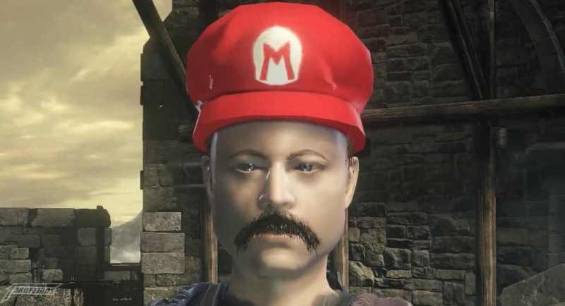 Dark Souls Odissey - Super Mario