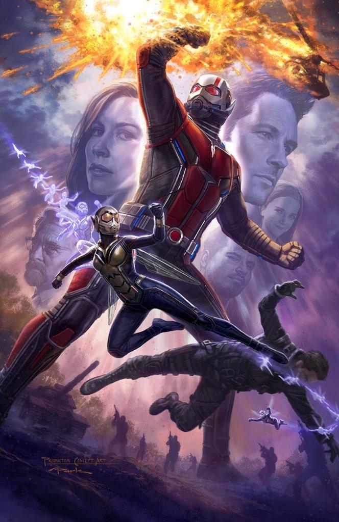 O Melhor da Marvel na SDCC 2017 - Arte conceitual - Homem Formiga e Vespa