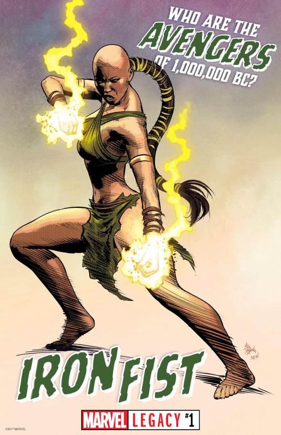 Quem são os Vingadores de 1.000.000 a.C.? - A primeira da linhagem da arma imortal Punho de Ferro