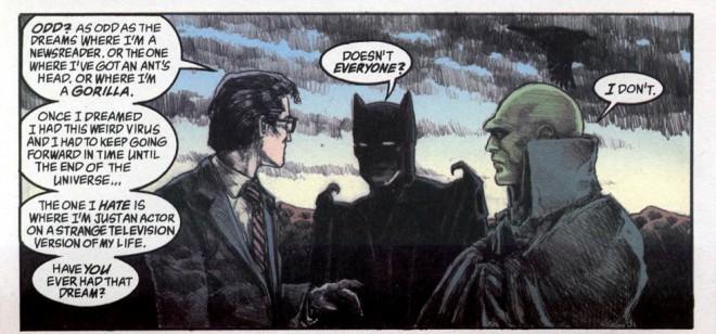 Clark Kent, Batman e Caçador de Marte no funeral de Sonho - O que significa a volta de Sandman ao Multiverso DC
