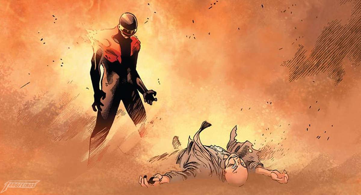 Traição - Ciclope mata Professor Xavier