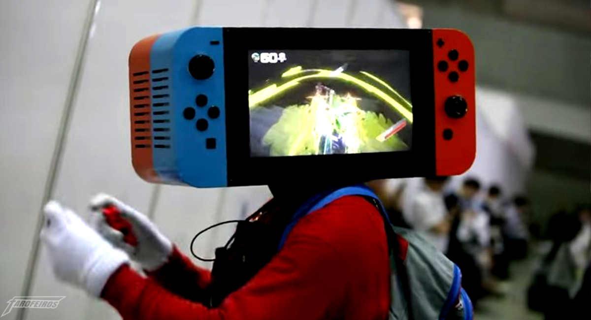 Cosplay de Nintendo Switch