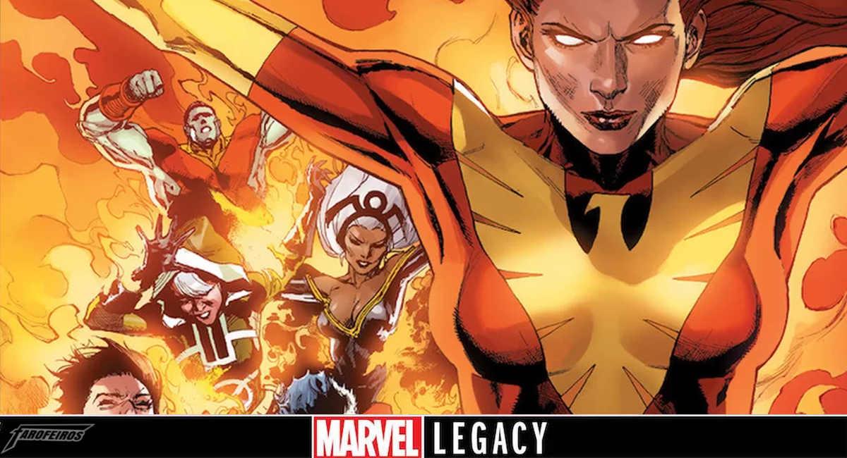 Legado Marvel - O novo retorno de Jean Grey - Jean Grey comandará nova equipe em X-Men Red