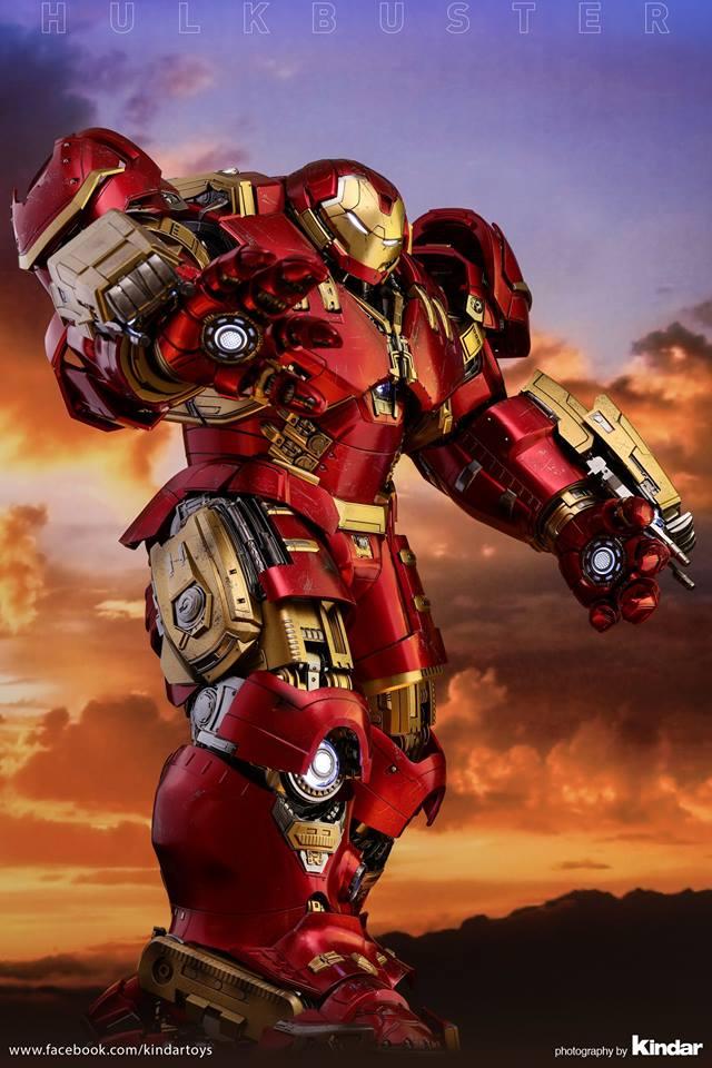 Versão final do Hulkbuster da Hot Toys - Vingadores - Era de Ultron - Blog Farofeiros