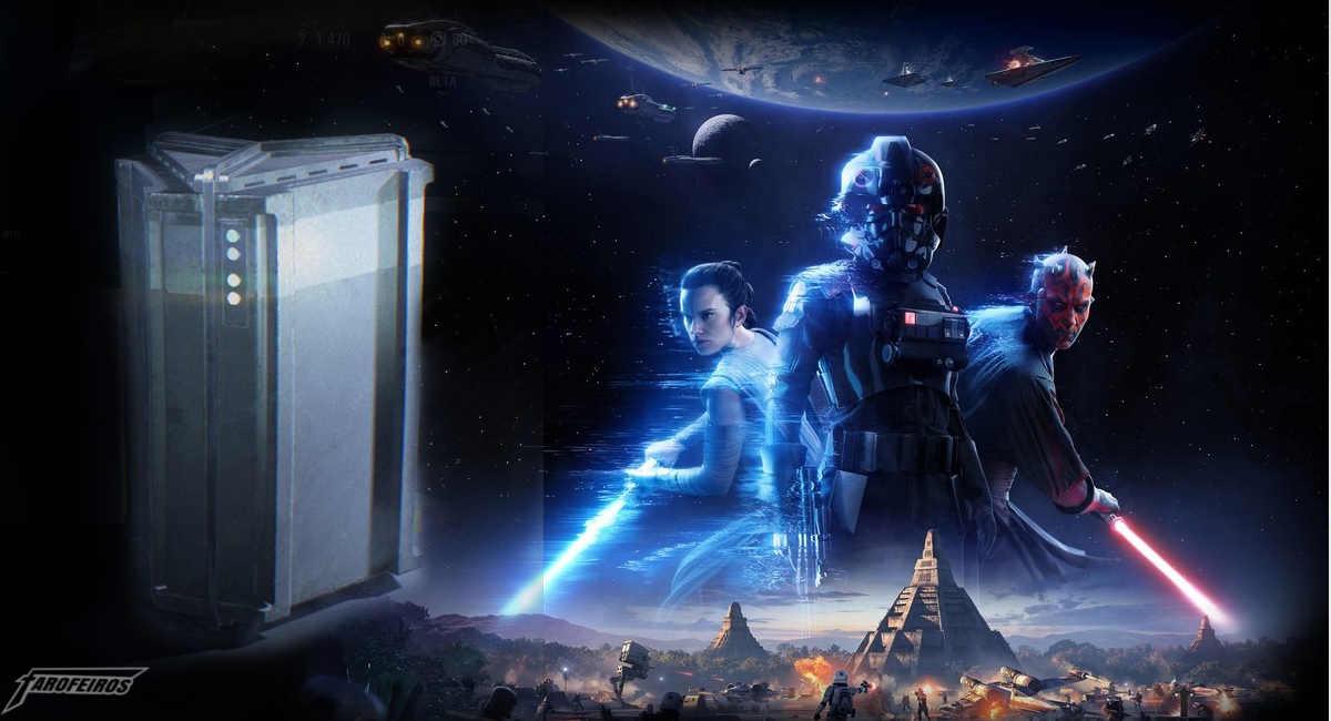 Caixas de Itens - Star Wars Battlefront 2 - Loot Boxes são ilegais na Bélgica