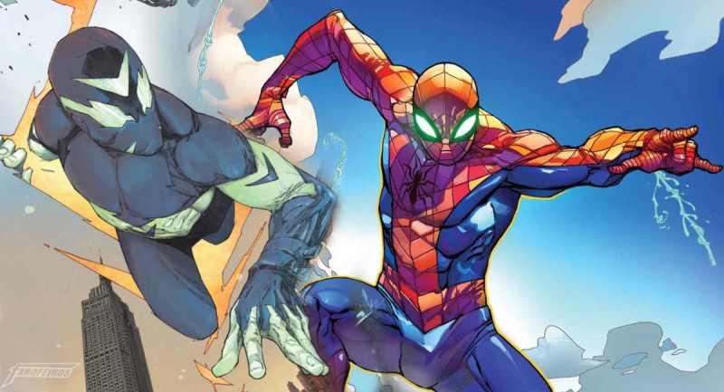 O Multiverso Sombrio da DC é a Marvel - Sideways - Spider Man - Homem Aranha