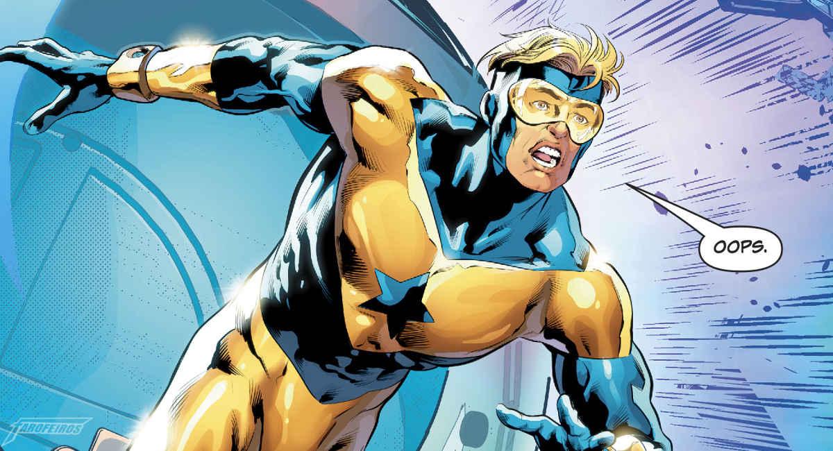 Algo está errado com o tempo no Universo DC - Gladiador Dourado atrasado