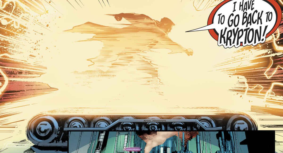 Algo está errado com o tempo no Universo DC - Superman na esteira
