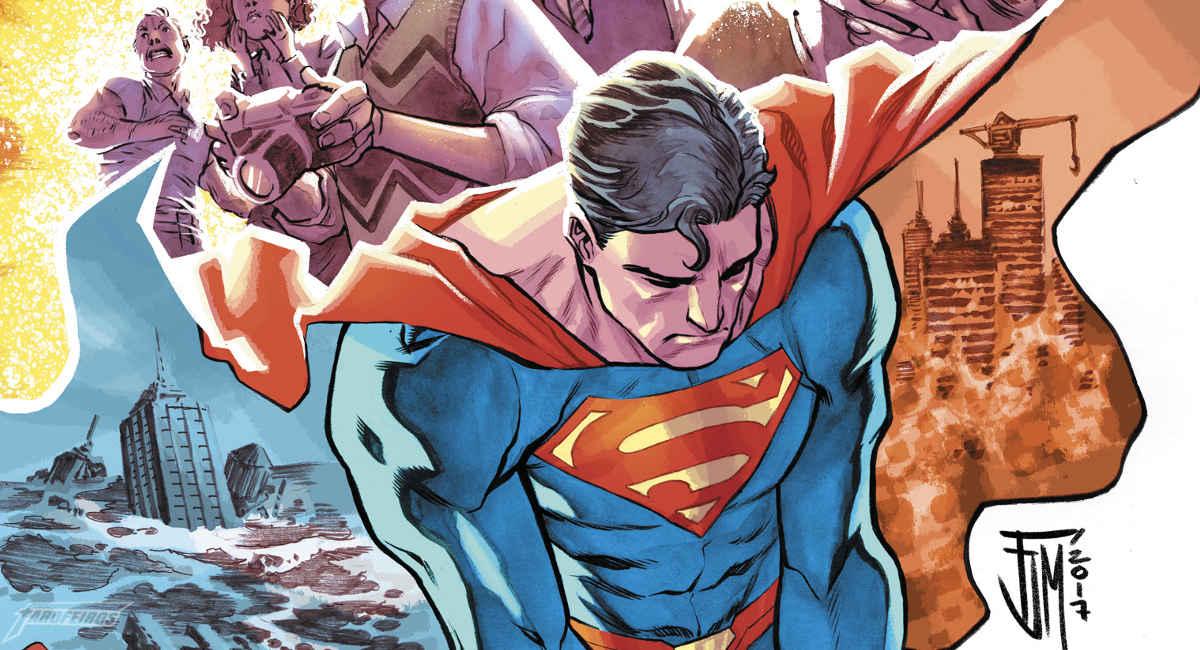 Algo está errado com o tempo no Universo DC - Superman