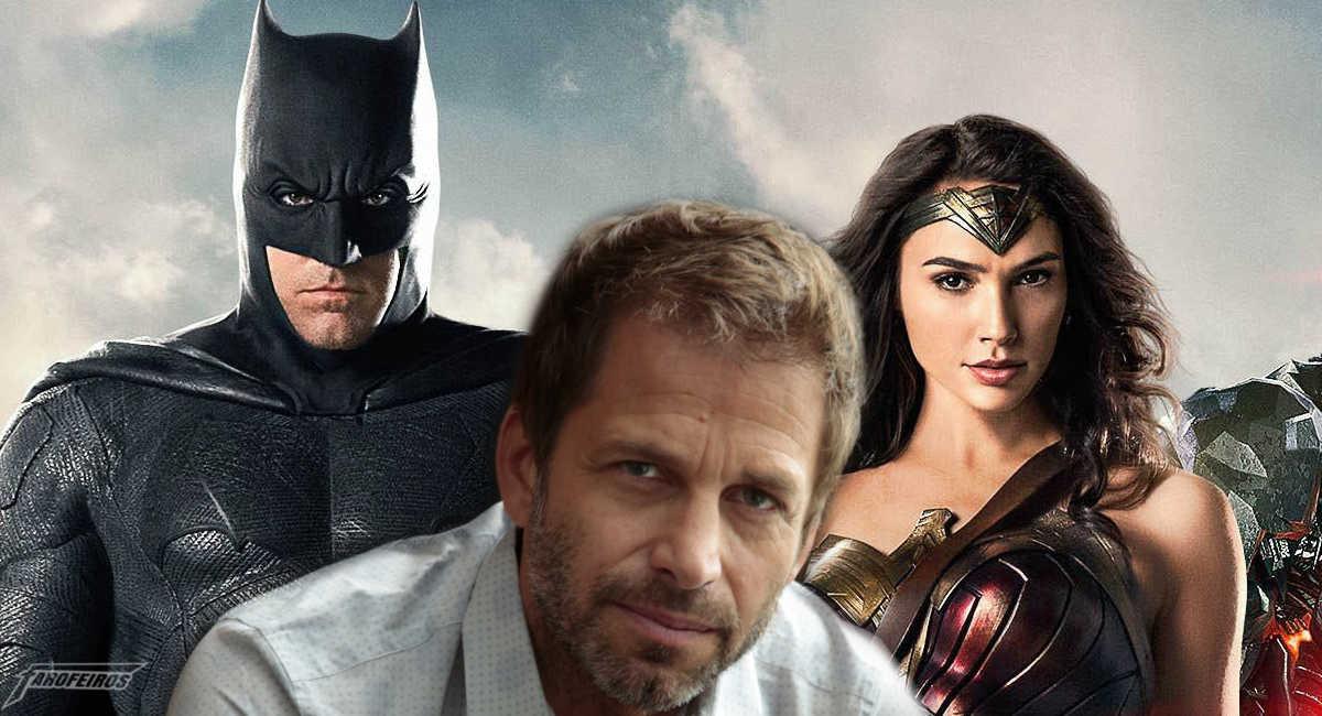 Esqueça a versão de Zack Snyder de Liga da Justiça