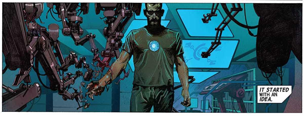 Referências do trailer de Guerra Infinita - Homem de Ferro - Tudo começou com uma ideia