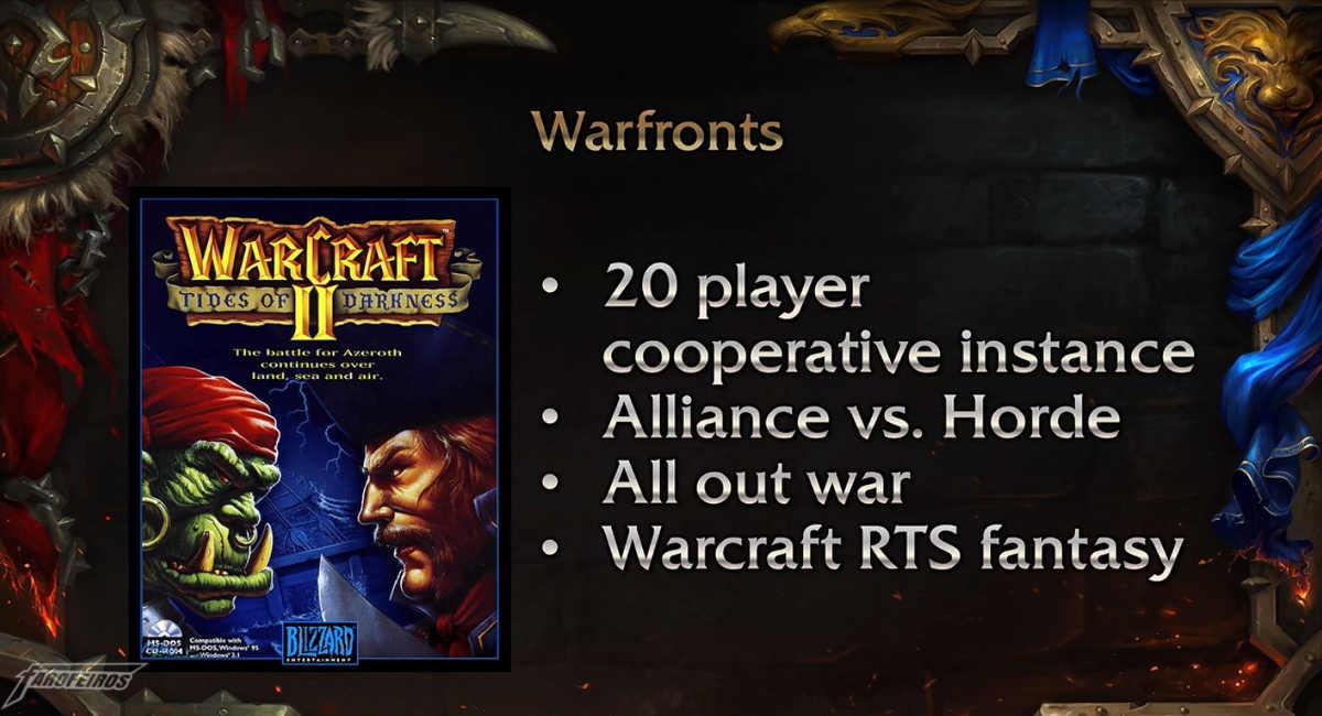World of Warcraft na Blizzcon 2017 - Warfronts