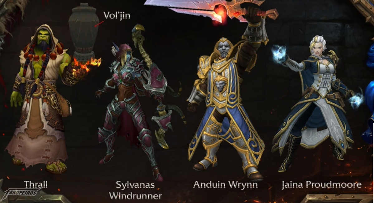 World of Warcraft na Blizzcon 2017 - Heróis da Horda e Aliança