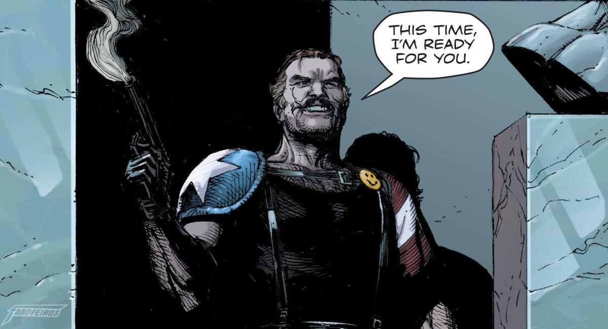 O Relógio do Juízo Final #2 - Rorschach encontra Batman - Comediante está vivo