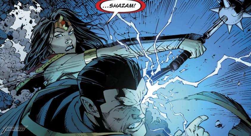 Dark Nights Metal # 5 - Barbatos Venceu - Mulher Maravinha vs Adão Negro - Noites de Trevas