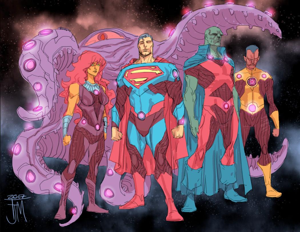 Liga da Justiça - Sem Justiça - Mistery Team - Equipe Mistério