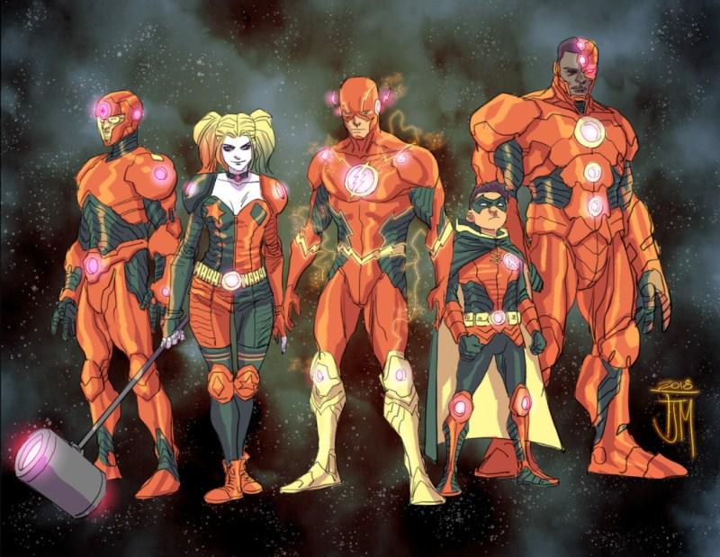 Liga da Justiça - Sem Justiça - Wisdom Team - Equipe Sabedoria