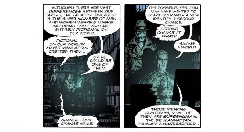 Quem poderia ser o Dr Manhattan disfarçado no Universo DC - Ozymandias em busca de Dr Manhattan