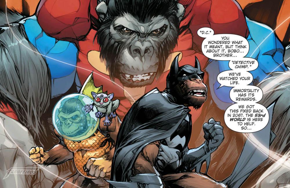 A Caçada Selvagem da Ascensão dos Cavaleiros das Trevas - Universo DC 53 - Noites de Trevas