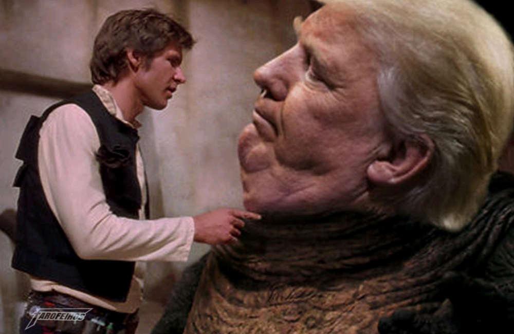 A culpa é do videogame e do cinema - Donald Trump - Jabba The Hutt e Han Solo - A culpa é do videogame e do cinema - Donald Trump - Jabba The Hutt e Han Solo - Trampolim de Trump