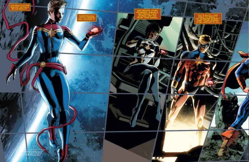 Contagem Infinita Prime - Joia da Realidade - Capitã Marvel - Capitão Marvel