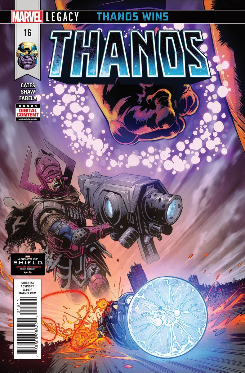 Thanos #16 - Preview - Motoqueiro Fantasma Cósmico