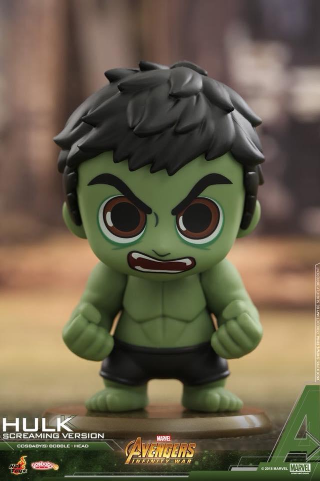 Cosbabys de Guerra Infinita - Hulk Zangado