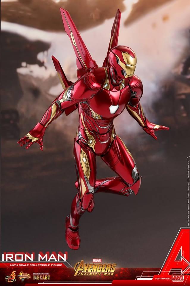 Hot Toys apresenta o Homem de Ferro de Guerra Infinita