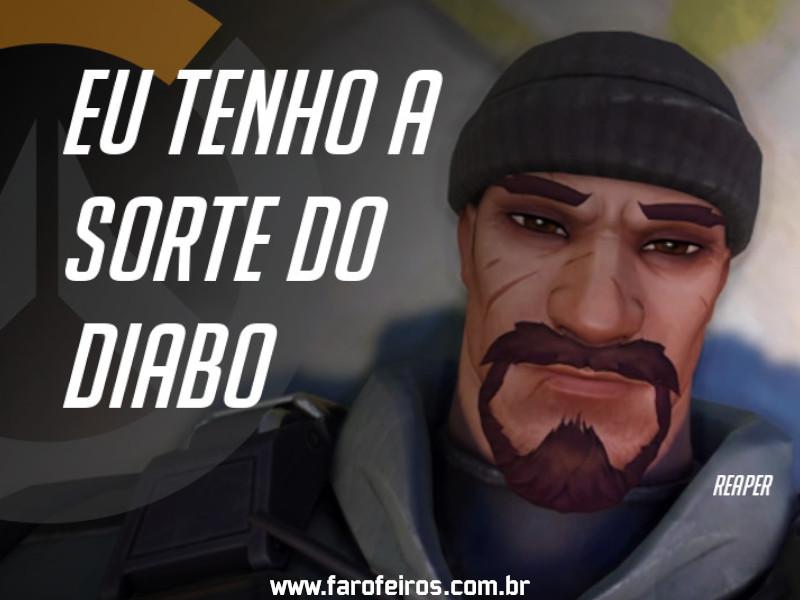 Reaper - DES Motivação de Overwatch - Blog Farofeiros