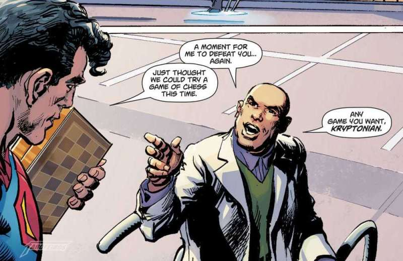 Action Comics #1000 - Superman vs. Lex Luthor no xadrez - Blog Farofeiros