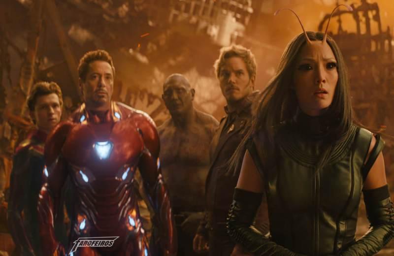 Review de Vingadores Guerra Infinita COM SPOILERS - Homem Aranha - Homem de Ferro - Drax - Senhor das Estrelas - Mantis