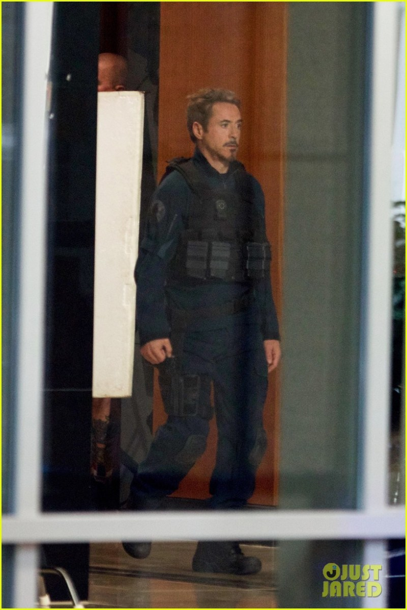 Fotos do set de filmagem de Vingadores 4 - Tony Stark