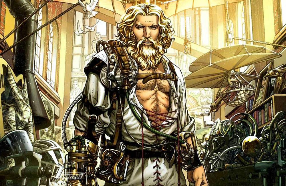 Leonardo Da Vinci da Marvel Comics - 00