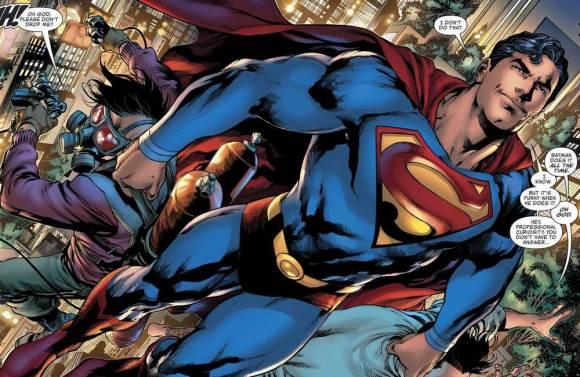 Por que o Superman usa cinto na sunga