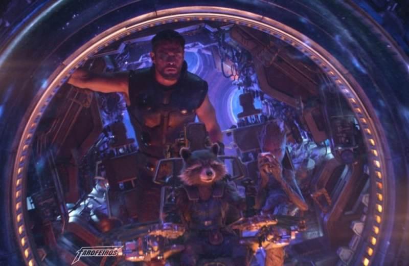 Review de Vingadores Guerra Infinita COM SPOILERS - Thor - Rocket - Groot