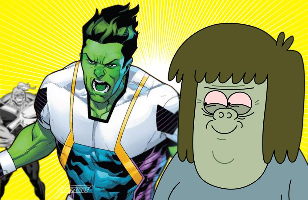 Amadeus Cho mudou de nome - Hulk - Musculoso - Brawn