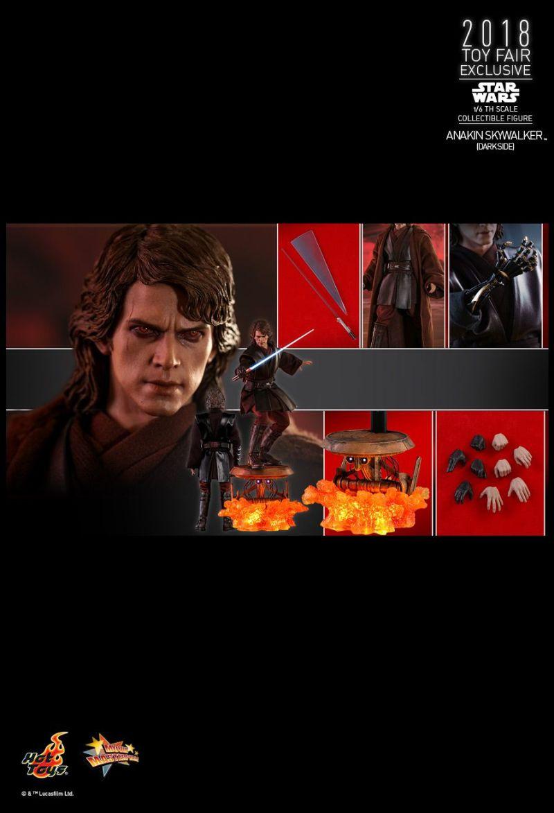 Anakin Skywalker - Mustafa - Hot Toys - Os melhores colecionáveis exclusivos da SDCC 2018