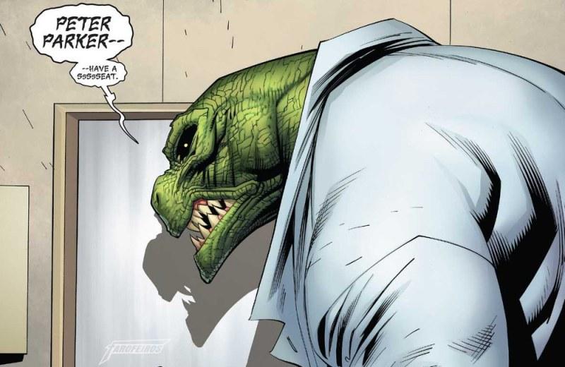 Homem Aranha está namorando - Lagarto - Spider Man