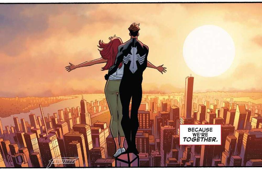 Homem Aranha está namorando - Peter Parker - Mary Jane - Spider Man