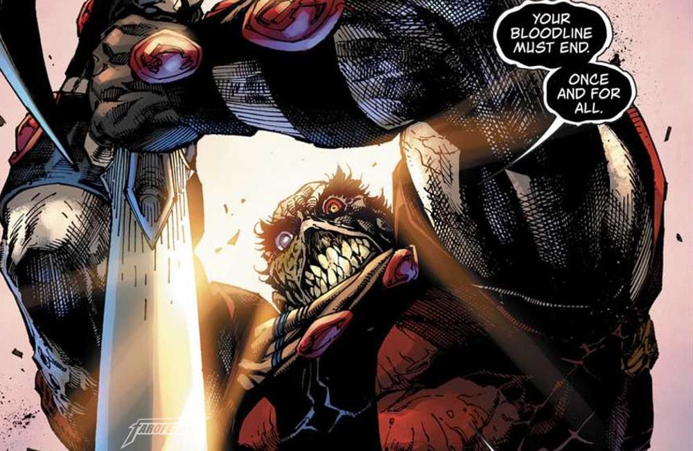 Não gostei do Superman do Bendis - Rogol Zaar