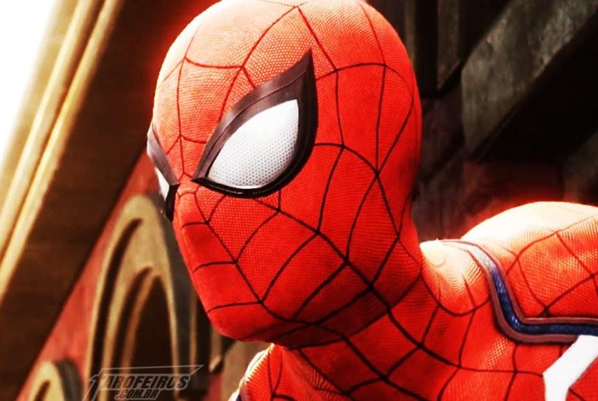 O melhor da Marvel na SDCC 2018 - Homem Aranha - Spiderman PS4