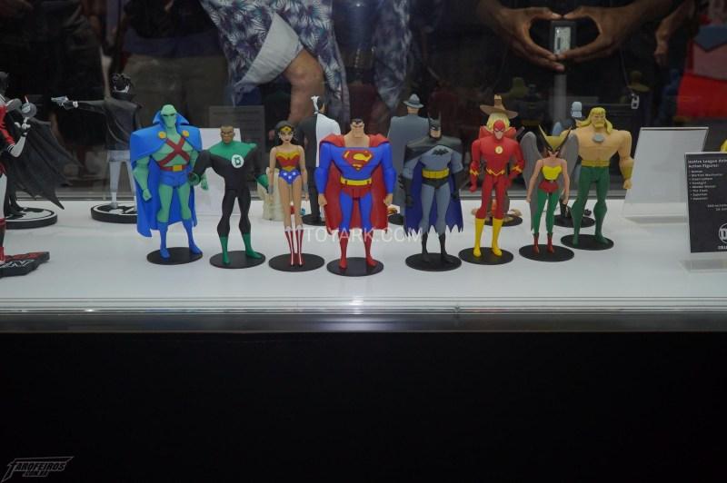 O melhor de colecionáveis na SDCC 2018 - DC Collectibles - Liga da Justiça Sem Limites - Justice League Unlimited - DC Universe
