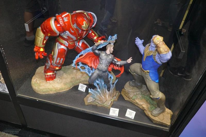 O melhor de colecionáveis na SDCC 2018 - Diamond Select - Vingadores Guerra Infinita - Hulkbuster - Thor - Thanos