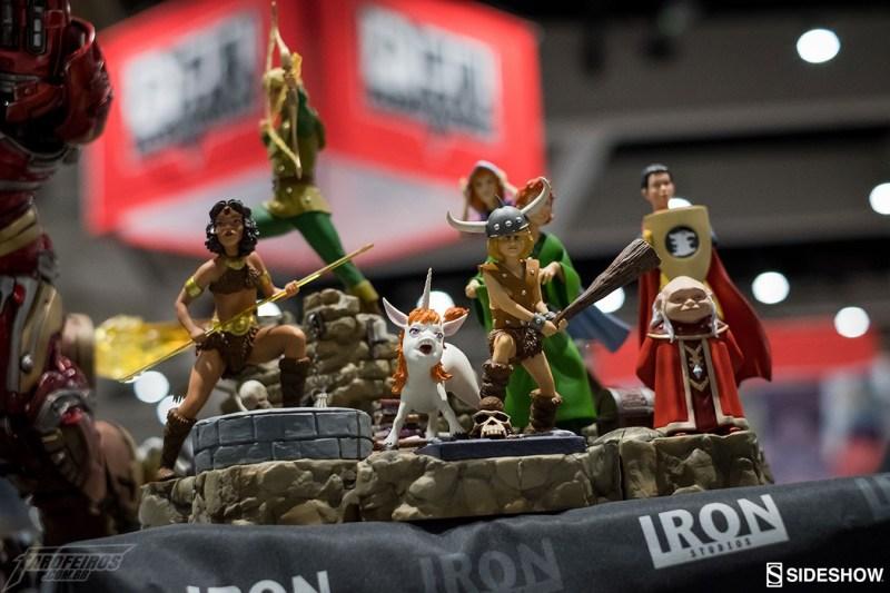 O melhor de colecionáveis na SDCC 2018 - Iron Studios - Caverna do Dragão - Dungeons & Dragons TV