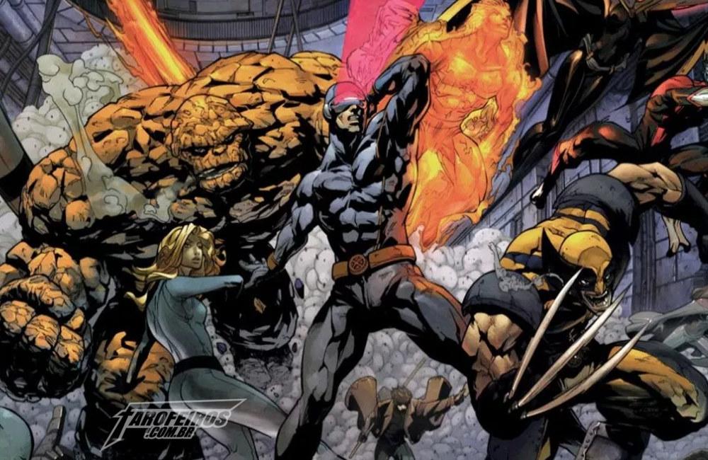 Quais personagens da Fox voltaram para a Marvel - Quarteto Fantástico - X-Men