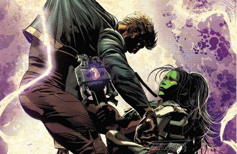A identidade de Réquiem de Infinity Wars - Guerras Infinitas - Marvel - Réquiem - Gamora - Senhor das Estrelas empalado