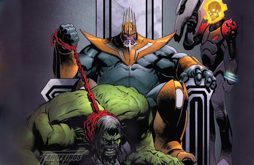 Motoqueiro Fantasma Cósmico - Thanos Venceu - Hulk - Blog Farofeiros