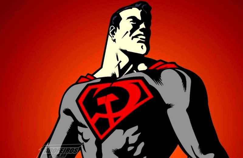 URSAL - Superman Red Son - Blog Farofeiros - Superman será uma ferramenta de propaganda comunista e socialista patrocinada URSAL.